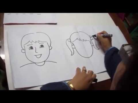 How to Draw a Boy and a Girl  Ana Berou
