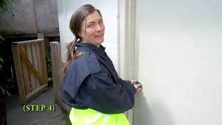 Helga womens Overalls full access