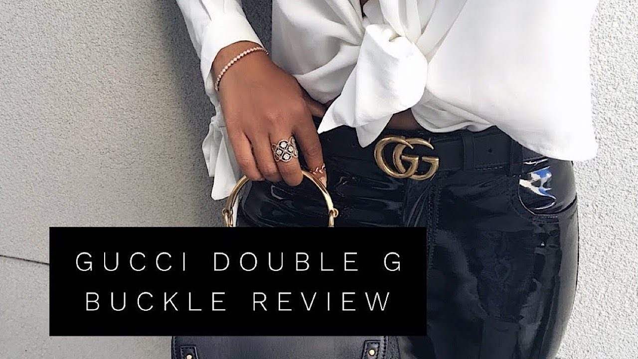 7f876b7fd0cfc GUCCI DOUBLE G BELT BUCKLE REVIEW