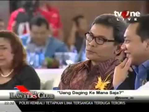 Indonesia Lawyers Club (ILC) tvOne  - Uang Daging Kemana Saja? part_9