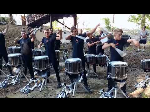 The Academy 2017 Drumline: DCI Atlanta