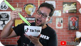 TIKTOK vai comer AS GRAVADORAS com arroz no Spotify e Apple Music