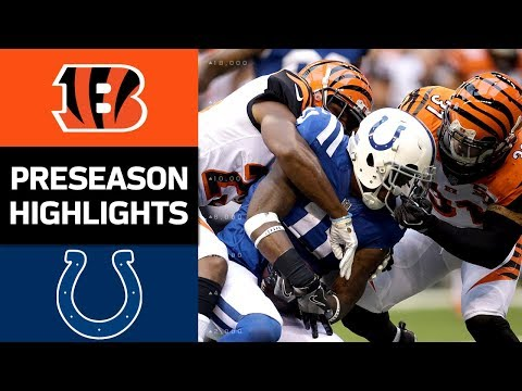 Bengals vs. Colts | NFL Preseason Week 4 Game Highlights