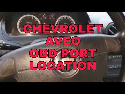 Chevrolet Aveo Obd Diagnostic Port Location Youtube