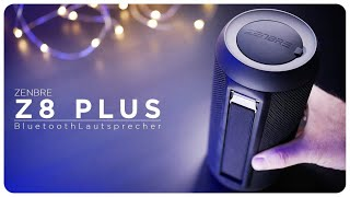 ZENBRE Z8 PLUS | im Klang Check vs. JBL Charge 4 | deutsch | 2018
