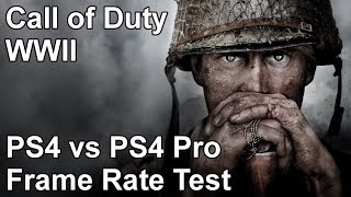 Video Call of Duty WW2 PS4 vs PS4 Pro Frame Rate Test download MP3, 3GP, MP4, WEBM, AVI, FLV Agustus 2018