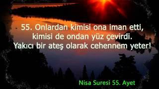 86-4 Nisa suresi Türkçe meal 42, 53, 54, 55, 56, 57, 58 ve 59