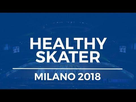 The Healthy Skater Seminar- 2018 World Figure Skating Championships- Milano, Italy