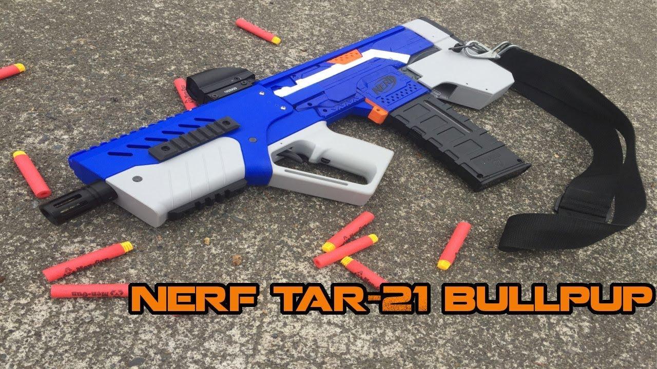 nerf tar 21 mod fullly automatic bullpup stryfe build kit