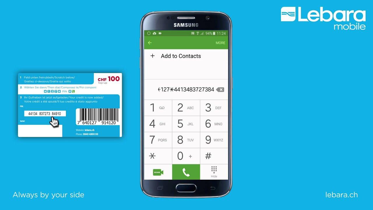 D1 Karte Aufladen.Lebara Mobile Prepaid Guthaben Aufladen Prepaid Guthaben Aufladen