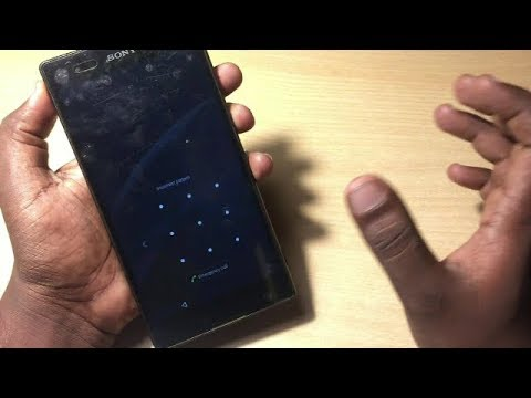 sony xperia z/z2/z3 hard reset unlock pattern lock ||sony xperia t2 ultra forgot pattern lock||