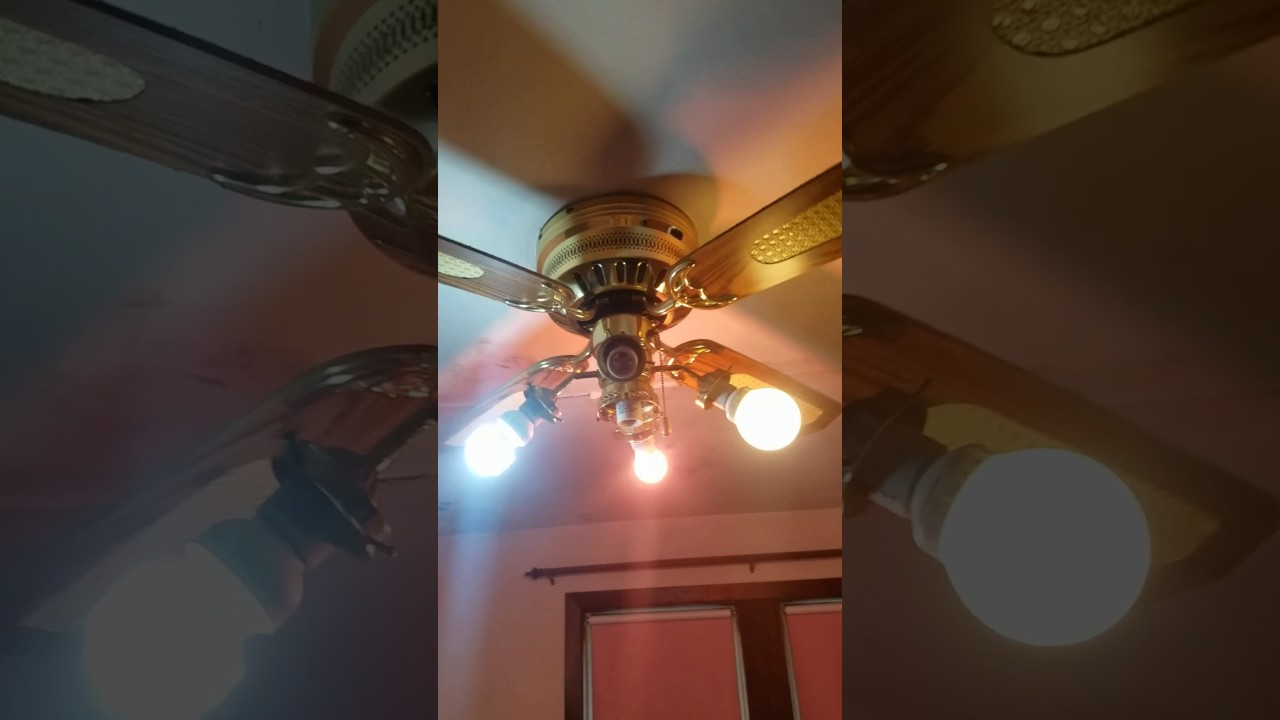 Ceiling Fans Up At New House Youtube