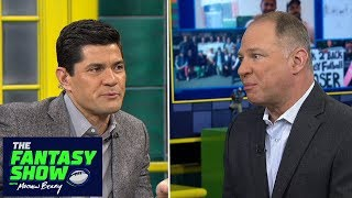 Matthew Berry, Tedy Bruschi consult crystal ball for Week 14 fantasy predictions | The Fantasy Show