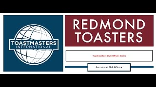 Toastmaster Club Officer Roles Overview