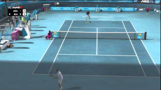 Review: TopSpin 4 auf Playstation 3, Andre Agassi vs. Online Gegner, Commentary Deutsch [HD]