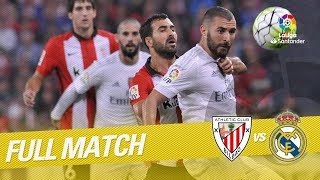 Full Match Athletic Club vs Real Madrid LaLiga 2015/2016