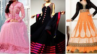WOW !! Latest Party Wear Dress Designs Collections 2018 | Expensive Anarkali Dresses For Functions
