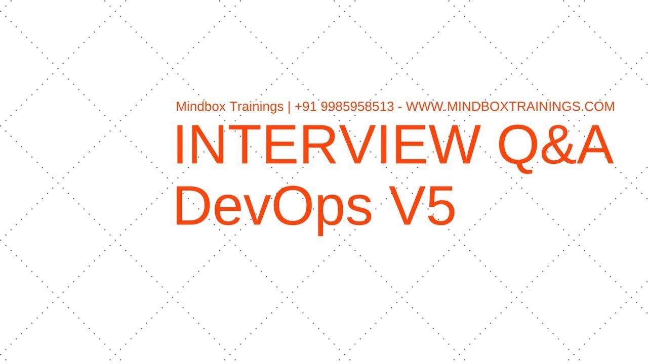 Devops Interview Question 5aws Devops Certification