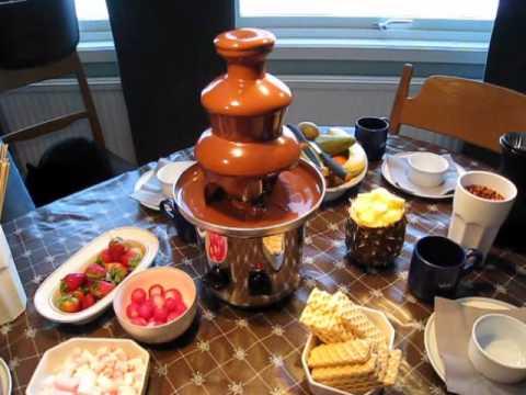 choklad till chokladfontän recept