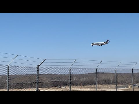Its Back! Plane Spotting At Dane County Regional Airport (Madison WI) #3 (Read Description)