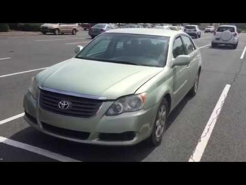 Toyota Avalon Alternator Replacement - YouTube