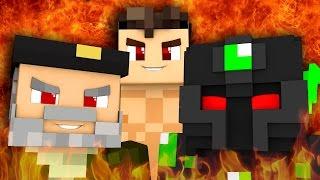 EL TRÍO DE LA MUERTE!! Juegos del Hambre!! Minecraft PvP c/ Vegetta y sTaXx