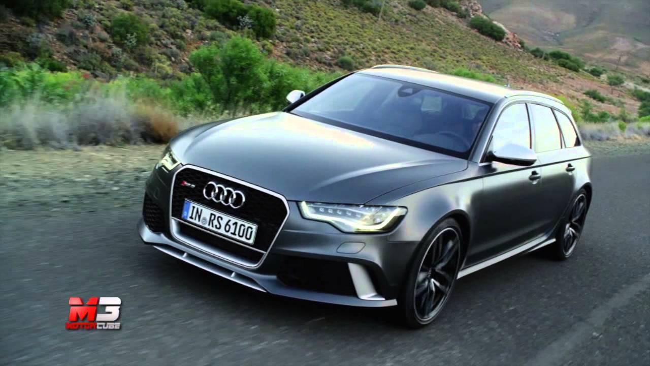 Audi Rs6 Avant 2013 Test Drive Youtube