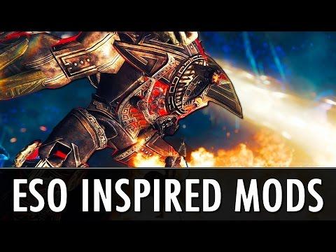 Skyrim Mods: ESO Inspired Skyrim Mods