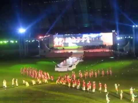 Closing Asean University Games Th Palembang Tarian Rafai