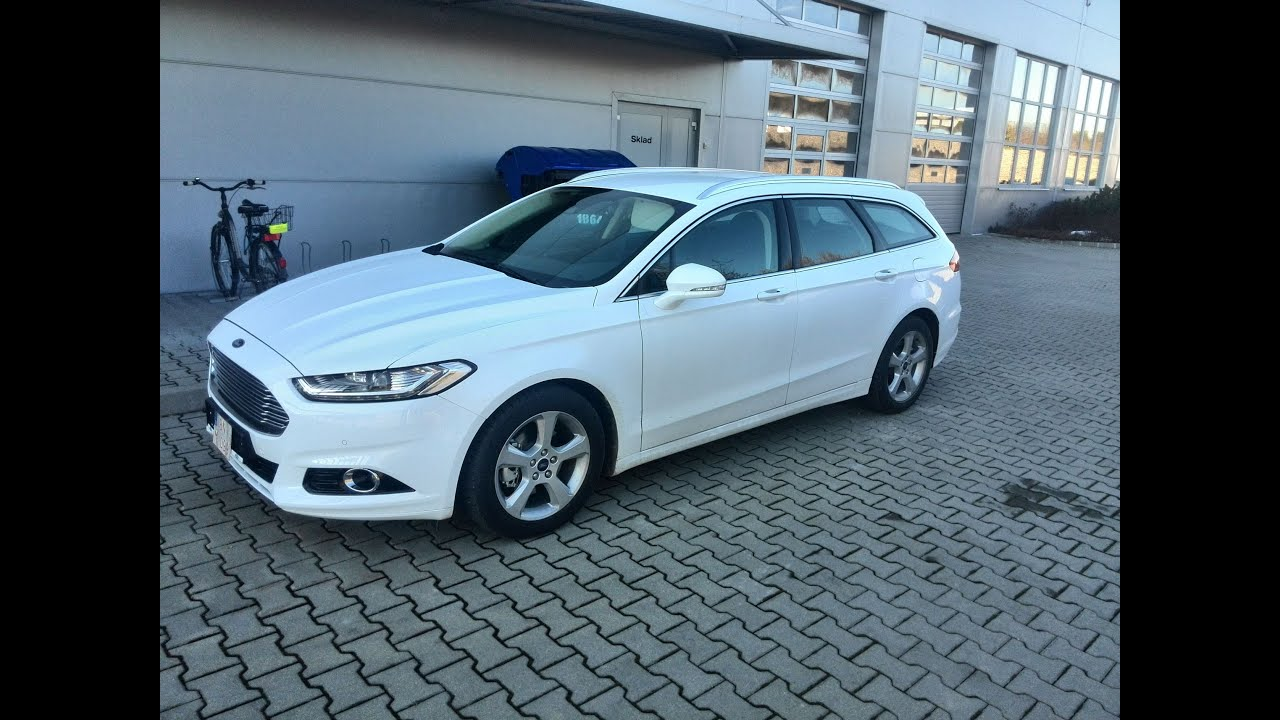 Ford Mondeo 2015 White >> New Ford Mondeo 2015 Titanium Youtube