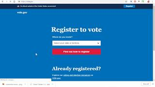 US voter registeration day 2018  how to register your vote