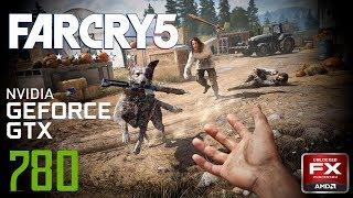 Far Cry 5 GTX 780 + AMD FX8300 Gameplay test