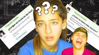 Mi Hermana (de 10 años) responde PREGUNTAS RIDÍCULAS de Yahoo Answers thumbnail