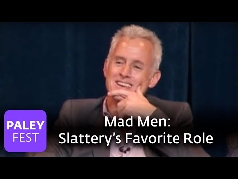 Mad Men  Slattery on His Favorite Role Paley Center