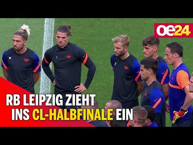 Fussball: RB Leipzig zieht ins CL-Halbfinale ein