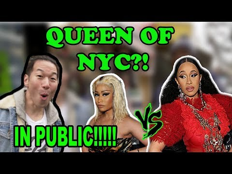 CARDI B vs NICKI MINAJ FIGHT - New York Decides WHO IS THE REAL QUEEN!!!