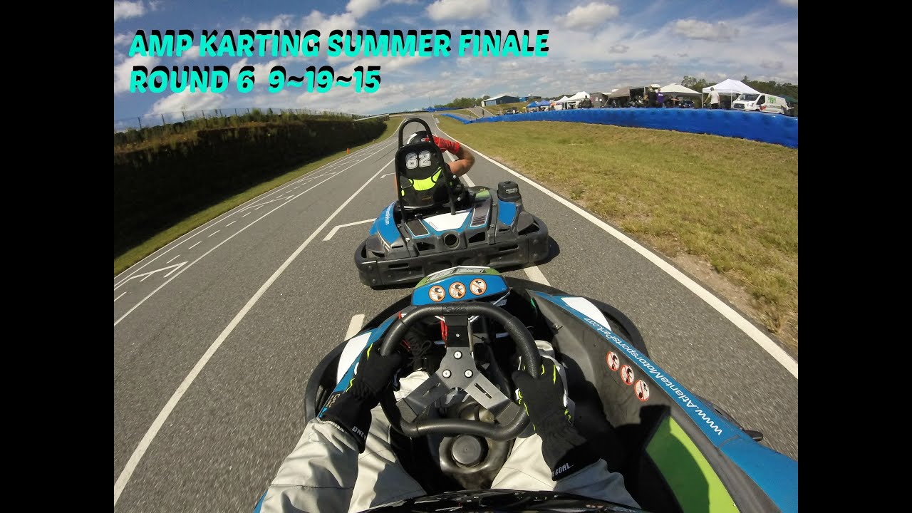 Atlanta Motorsports Park Karting Summer Series Round 6 9