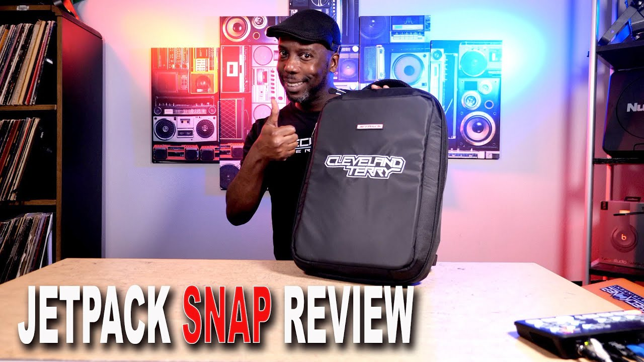 Jetpack Snap - The First Modular DJ Bag System