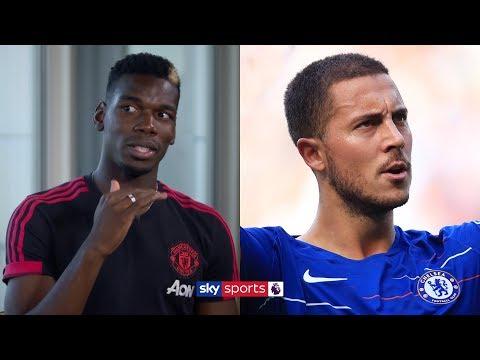 Paul Pogba believes Eden Hazard is 'the best player in the Premier League'