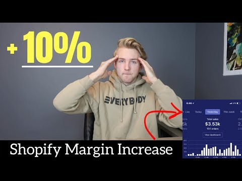 EASY Way To Increase Your Shopify Margins By 10% (For FREE)