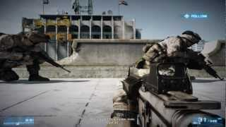 Battlefield 3 gameplay mission 1 (Hun)