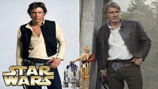 Актеры культовой саги «Звездные войны» тогда и сейчас