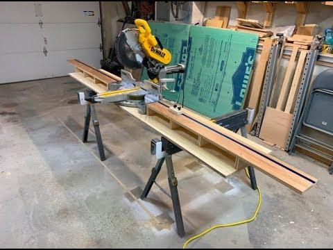 Portable Miter Saw Station