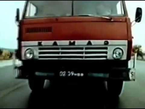 Игра в смерть, или Посторонний (1991) - КамАЗ-5410 vs УАЗ-469