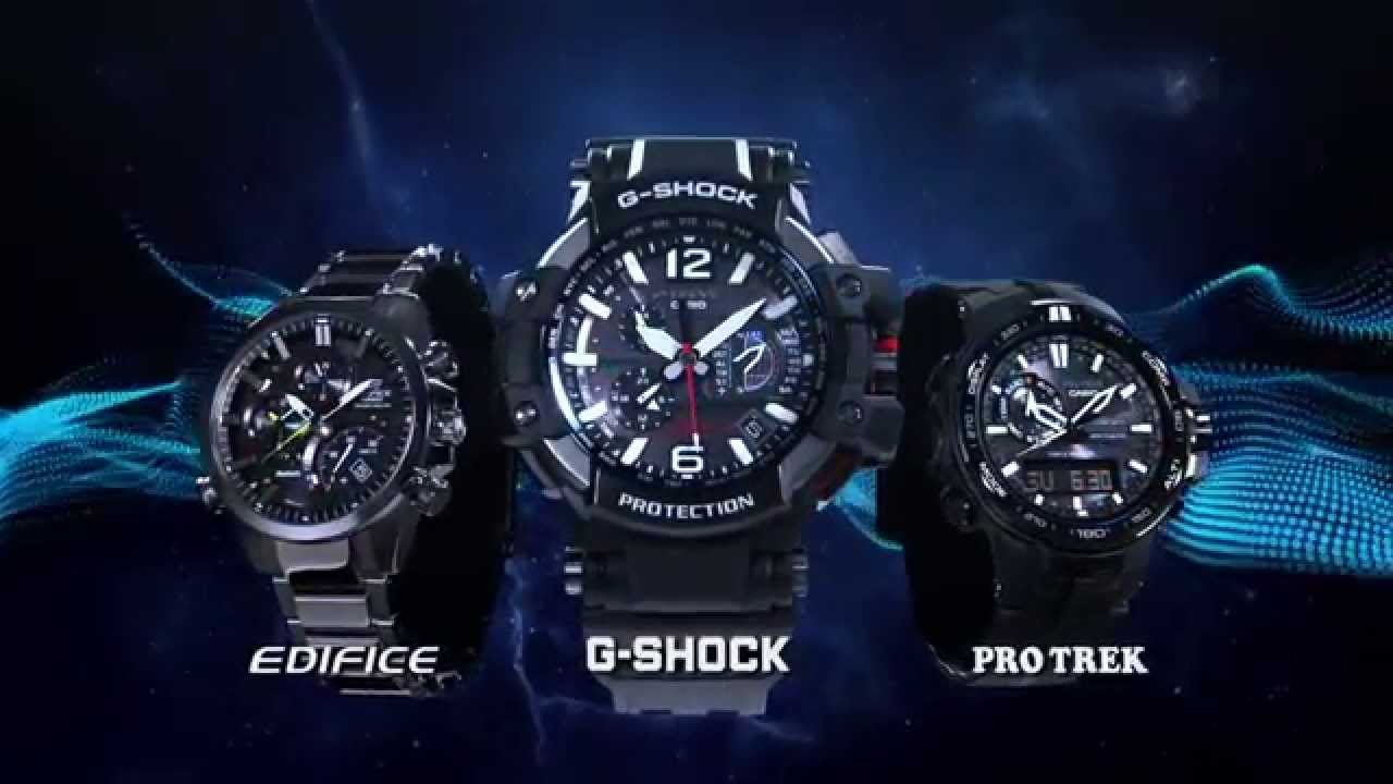 ... -1000, GPS - Radio controlled & Solar Powered Hybrid Watch - YouTube