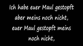 K.I.Z - Geld Essen Songtext HD