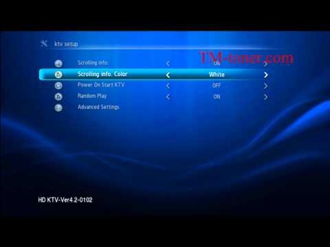 How to set up the KTV 8826 KTV 8826E KTV8836D kHP-868 karaoke player