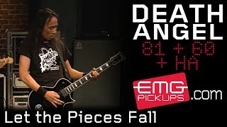 "Death Angel performs ""Let The Pieces Fall"" live on EMGtv"