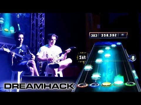LE MULTIPLICO X23 - Torneo Guitar Hero DreamHack 2017 | GuitarHeroStyles