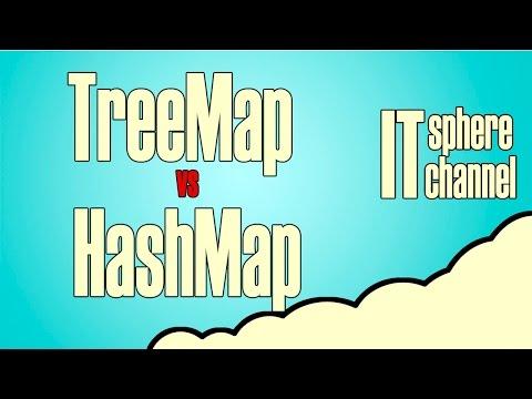 Разница между HashMap и TreeMap Java собеседование